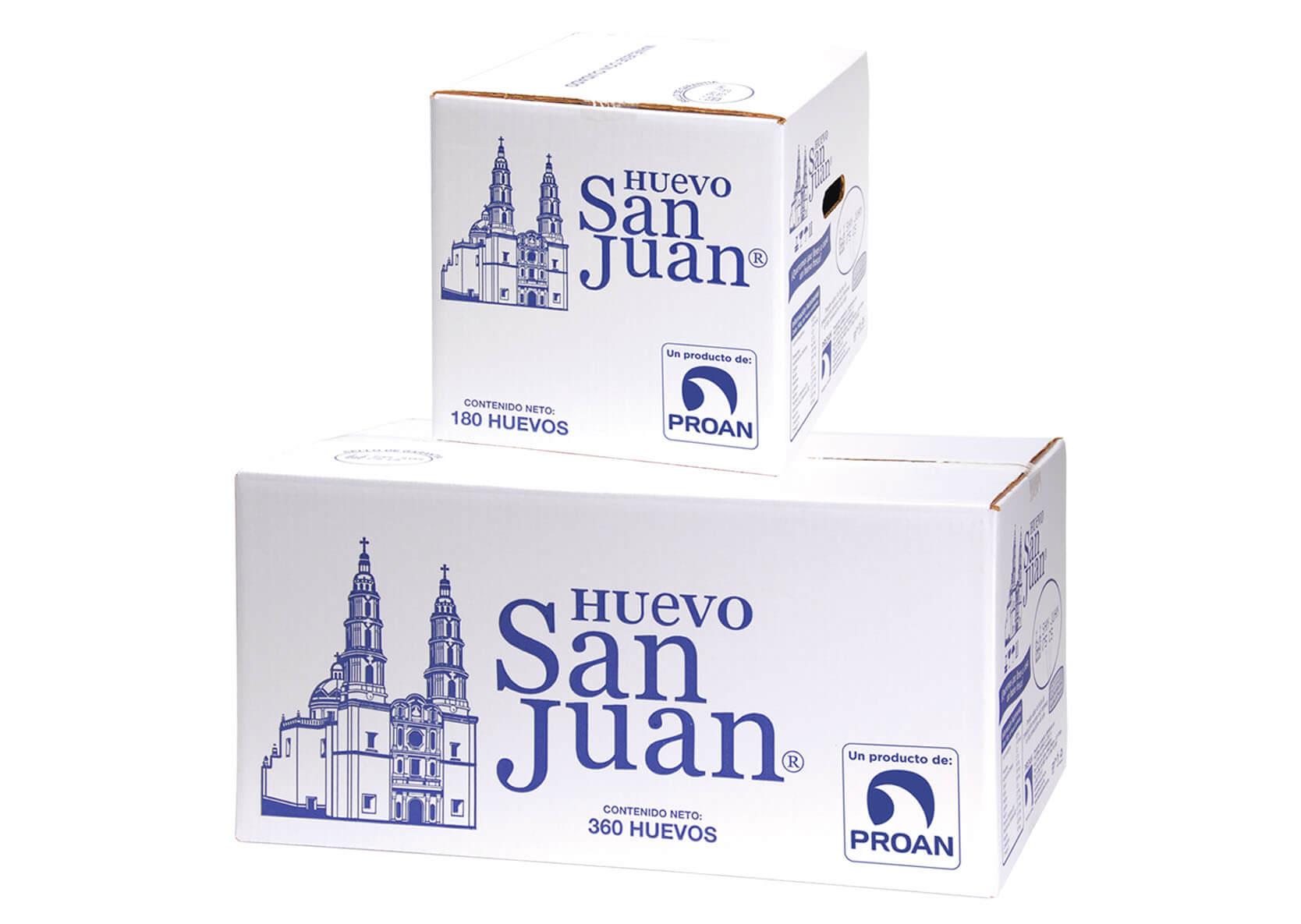 empaques Huevo San Juan