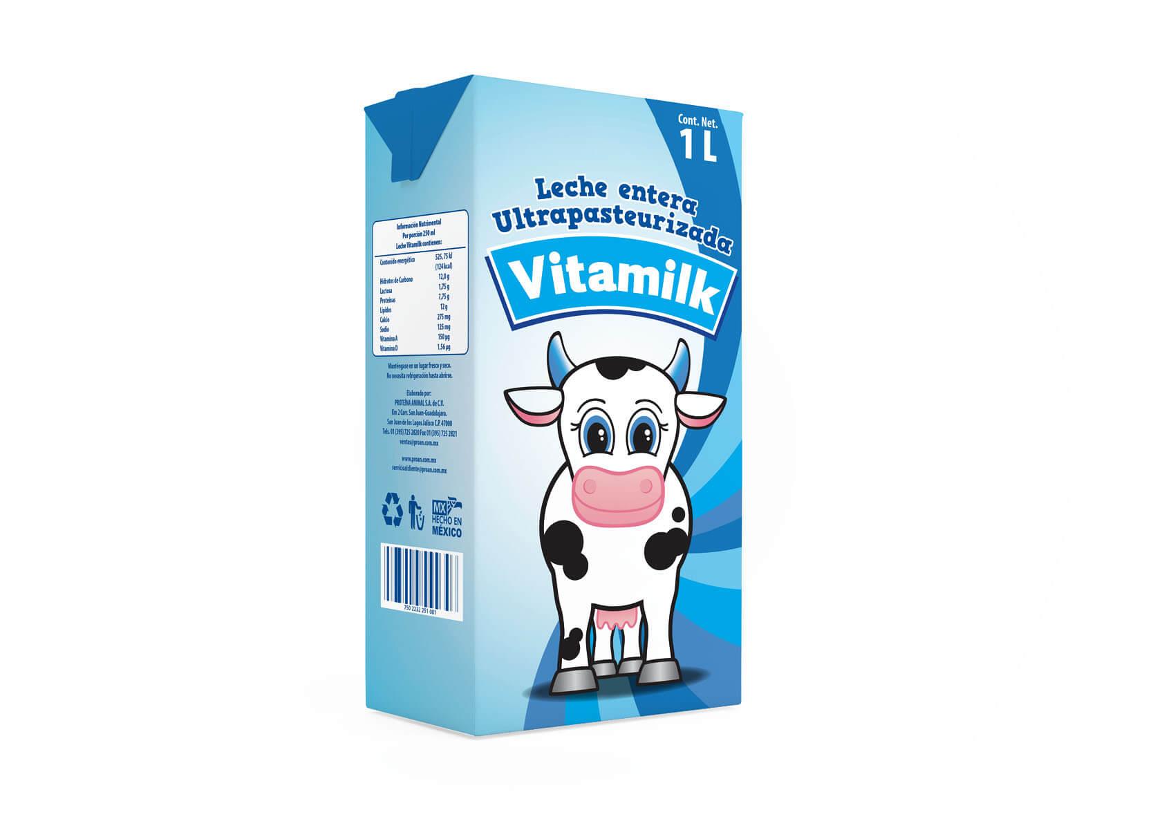 leche package