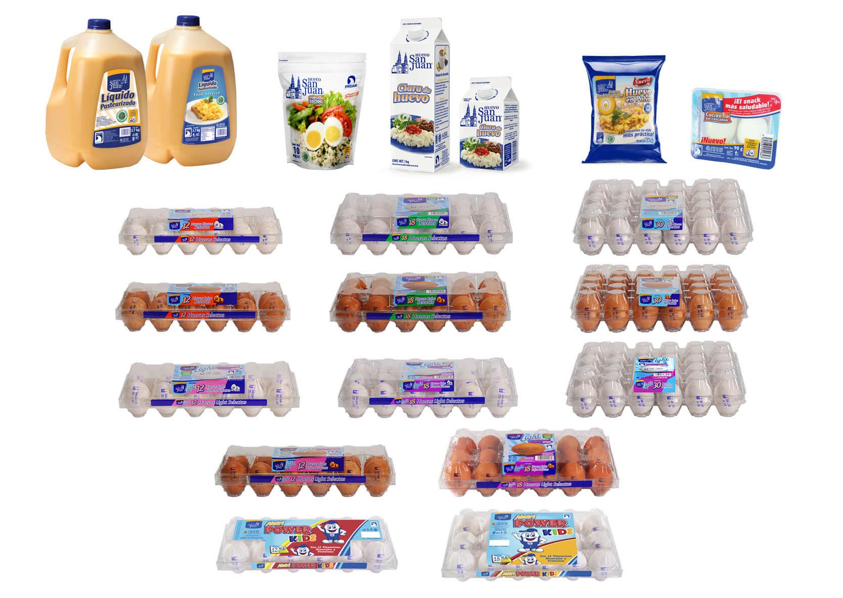 packaging Huevo San Juan